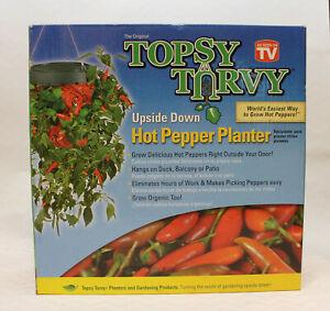 Topsy-Turvy-Pepper-Planter-Upside-Down-Pepper-Planter-New-In-Box