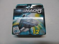 Gillette Mach3 12 Cartridges