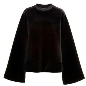 Puma-Fenty-par-RIHANNA-surdimensionne-velours-noir-Femmes-Pull-over-573373-01