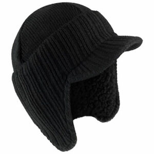 e1dd1b51112 NEW Warm Winter Peaked Beanie Thermal Insulated Outdoor Black ...