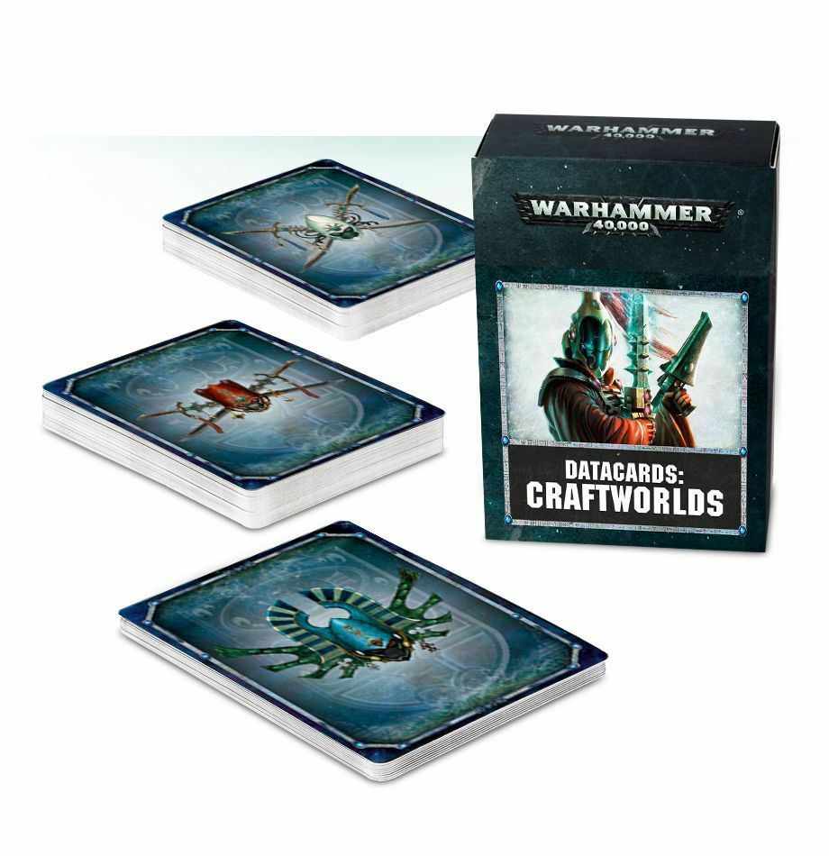 Craftworlds Craftworlds Craftworlds datakarten (alemán) Games Workshop Warhammer 40.000 8 Eldar 9dc83b