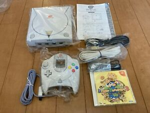 Sega-DreamCast-Console-HKT-3000-with-BOX-and-Manual