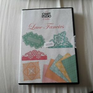 My Craft Studio Tattered Lace SPUN SUGAR CD ROM Contain My Craft Studio /& Elite