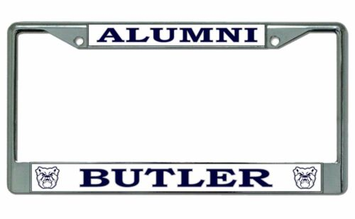 Butler University Alumni Chrome License Plate Frame