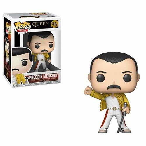 Queen Bohemian Rapsody #96 Funko POP Vinyl Rock Freddie Mercury  Wembley