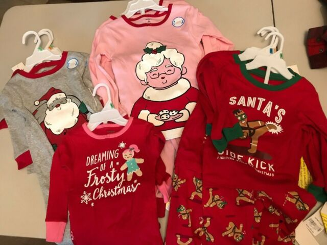 Carter s Girls  2-piece Christmas Snug Fit Cotton PJs 5t Pink f322cda61