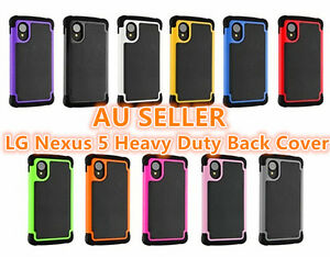 LG-Google-Nexus-5-Rubber-and-Hard-2-in-1-Heavy-Duty-Back-Cover-Case