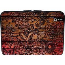 "1157 - Funda de neopreno MacBook / portatil 15.6"" pulgadas - modelo de flores"