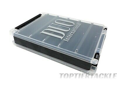 Duo réelle réversible Lure Case 140 Tackle boîte de rangement