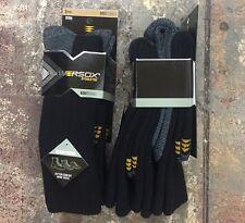 Powersox by Gold Toe- 1/ 3 Pack   Color-Black  Size- Medium  (Shoe-4-8.5)
