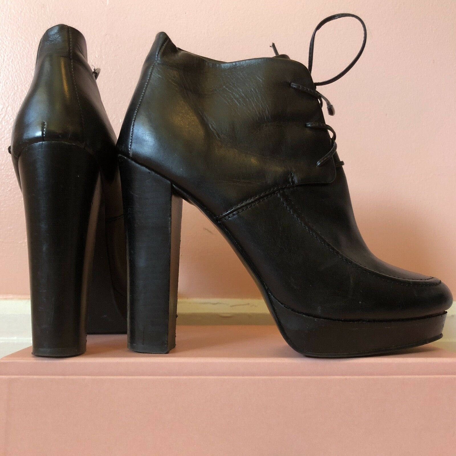 Cheap Monday Platform Heeled Boots