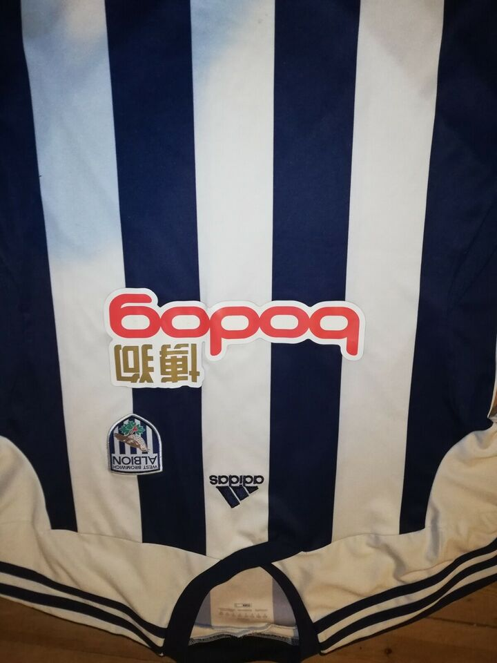Fodboldtrøje, West bromwich albion trøje, Adidas