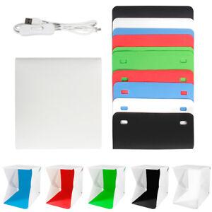 Light-Room-Mini-Photo-Studio-9-034-Photography-Lighting-Tent-Kit-Backdrop-Cube-Box