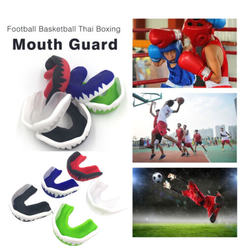Hot Shield Karate Muay Gum Basketball Teeth Protector Mouth Protective Boxing