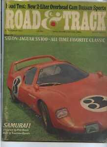 Road-amp-Track-November-1967-Jaguar-SS-100-Samurai-MBX25