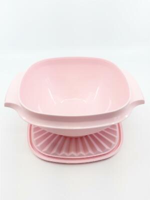 Tupperware Schüssel Servierschüssel Sonnendeckel Rosa 830 ml Schüssel  NEU