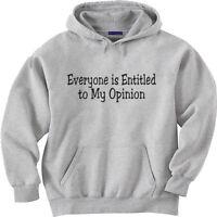 hooded sweatshirt hoodie Men's size sweat shirt funny saying