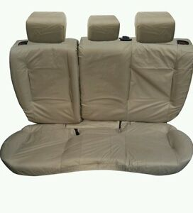 Range-Rover-Vogue-Rear-Set-Comfort-Seat-Covers-2002-To-2010-SAND-New-UK-seller