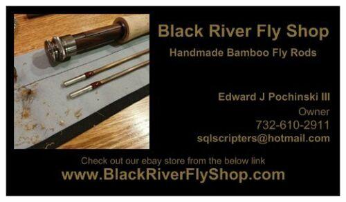 Fleuve Noir Fly Shop 12 pièces Gold Hardware double pied Fly Rod Guide Set