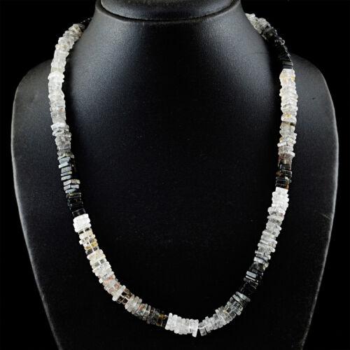 Natural Moonstone Rose Quartz Amazonite Pyrite Heishi Beads Handmade Necklace