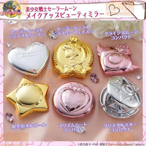 Sailor Moon Makeup Beauty MIRROR 1 Specchietto BANDAI PRISM HEART COMPACT