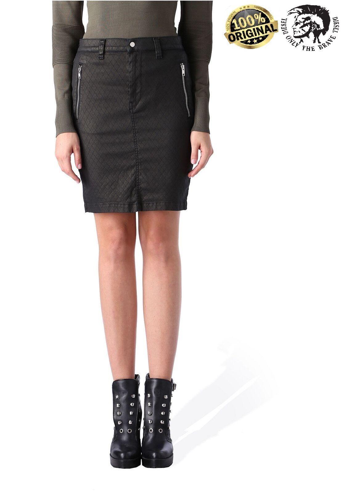 Diesel Women Skirt DIESEL DE - FRANK 02 GONNA Denim mini Skirt all Sizes RRP110