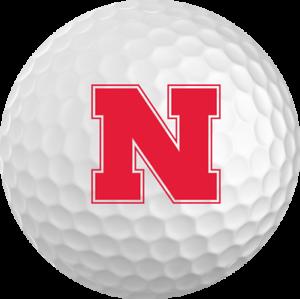 Nebraska-Cornhuskers-Titleist-ProV1-Refinished-NCAA-Golf-Balls-12-Pack