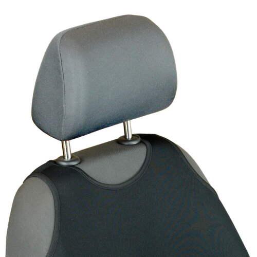 Schwarze Sitzbezüge für VOLVO C30 Autositzbezüge Vorne
