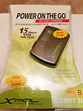 Xpal XP2000 Harry ll  Power On The Go For Cell Phone/MP3/More...NEW