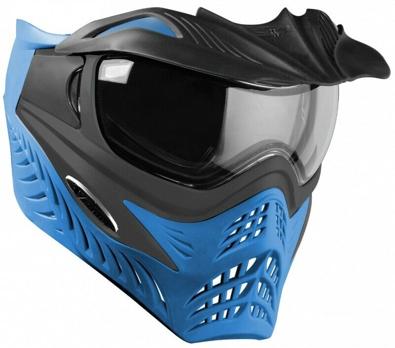 VForce Grill Paintball Thermal Maske Azure Grau Blau