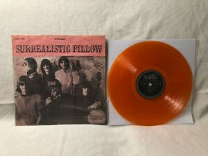1967-Jefferson-Airplane-Surrealistic-Orange-Vinyl-World-Record-SLW-1628-VG-G