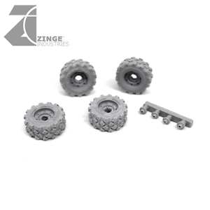 Zinge Industries militaire 23 mm Roues x4 S-WHE05
