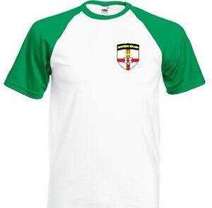 Northern Ireland Baseball Football Team Soccer Baseball T-Shirt - All Sizes