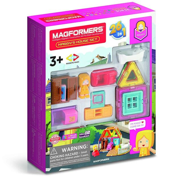 Magformers MAGGY'S HOUSE Educational Construction Building Stem Toy BN