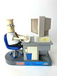 Dilbert Electronic M&M's Office Desk Computer Candy Dispenser | eBay