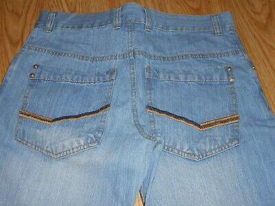 % Cfl Markenjungen Jeans Gr. 170 Top Hellblau, Bleached Neu StäRkung Von Sehnen Und Knochen