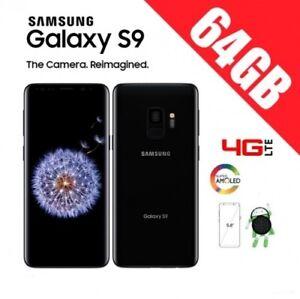 Samsung Galaxy S9 G960 NEGRO LIBRE+ GARANTIA + CAJA + ACCESORIOS