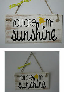 Image Is Loading Wooden Sign You Are My Sunshine Song Lyrics