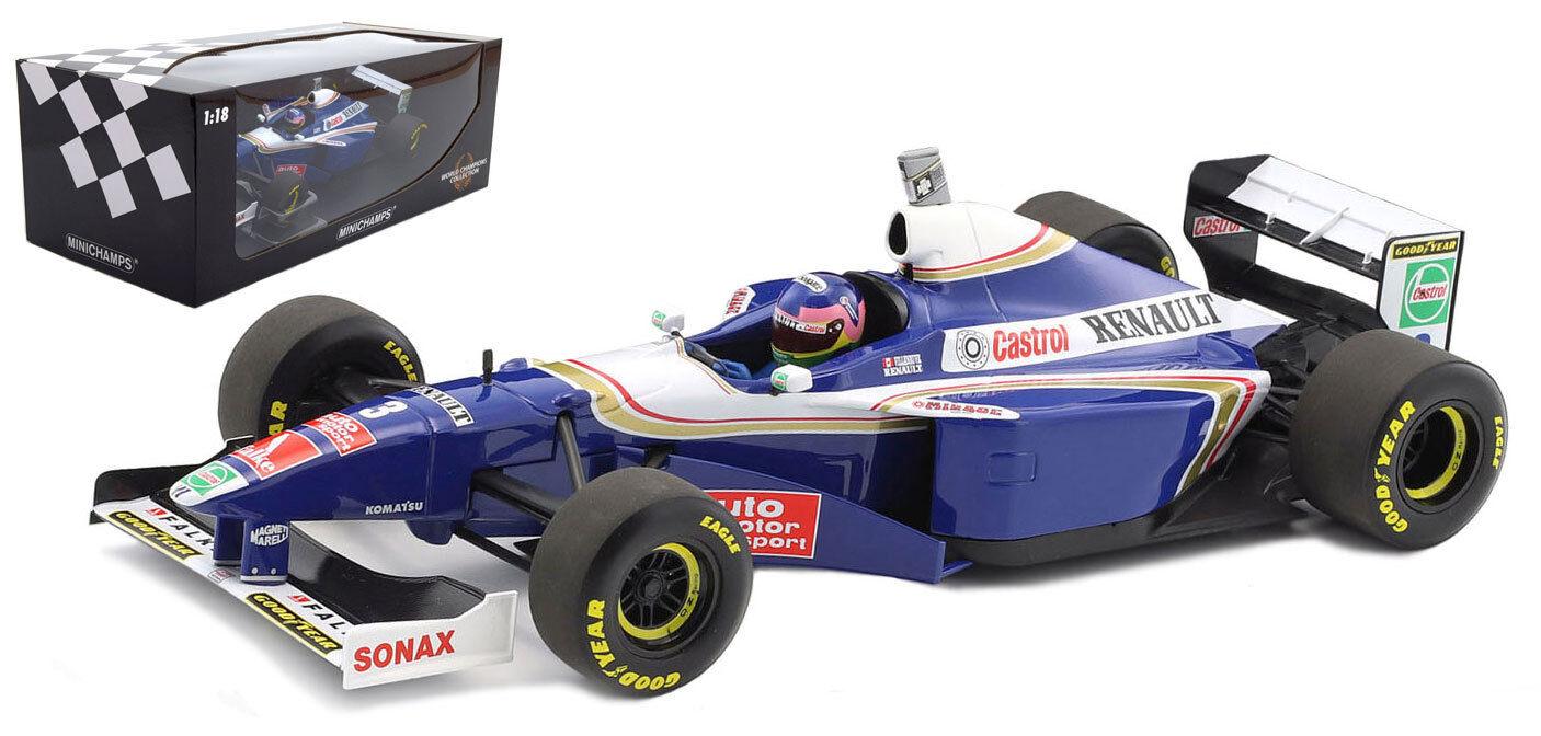 Minichamps Williams FW19 World Champion 1997 - Jacques Villeneuve 1 18 Scale
