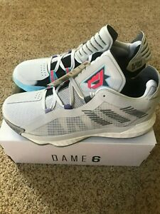 Details about Adidas Dame 6 GCA NBA Jam Always On Fire Damian Lillard Men Basketball Size 10