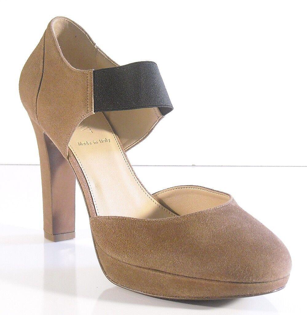 J Crew Jayne Platform Heels 9.5 Dusty Cedar