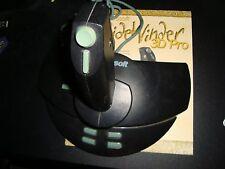 Microsoft SideWinder 3D Pro PC Flight Simulator Joystick game Controller +manual