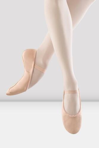 Ladies Dansoft Leather Ballet Shoes Pink S0205L BLOCH Girls
