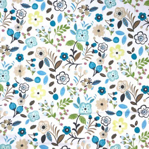 El aclaramiento 10 m Rollo de Textiles de prestigio Sweet Briar cielo de tela de algodón