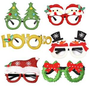 Novelty-Christmas-Sunglasses-Xmas-Fun-Fancy-Dress-Festive-Ornaments-Glasses-1
