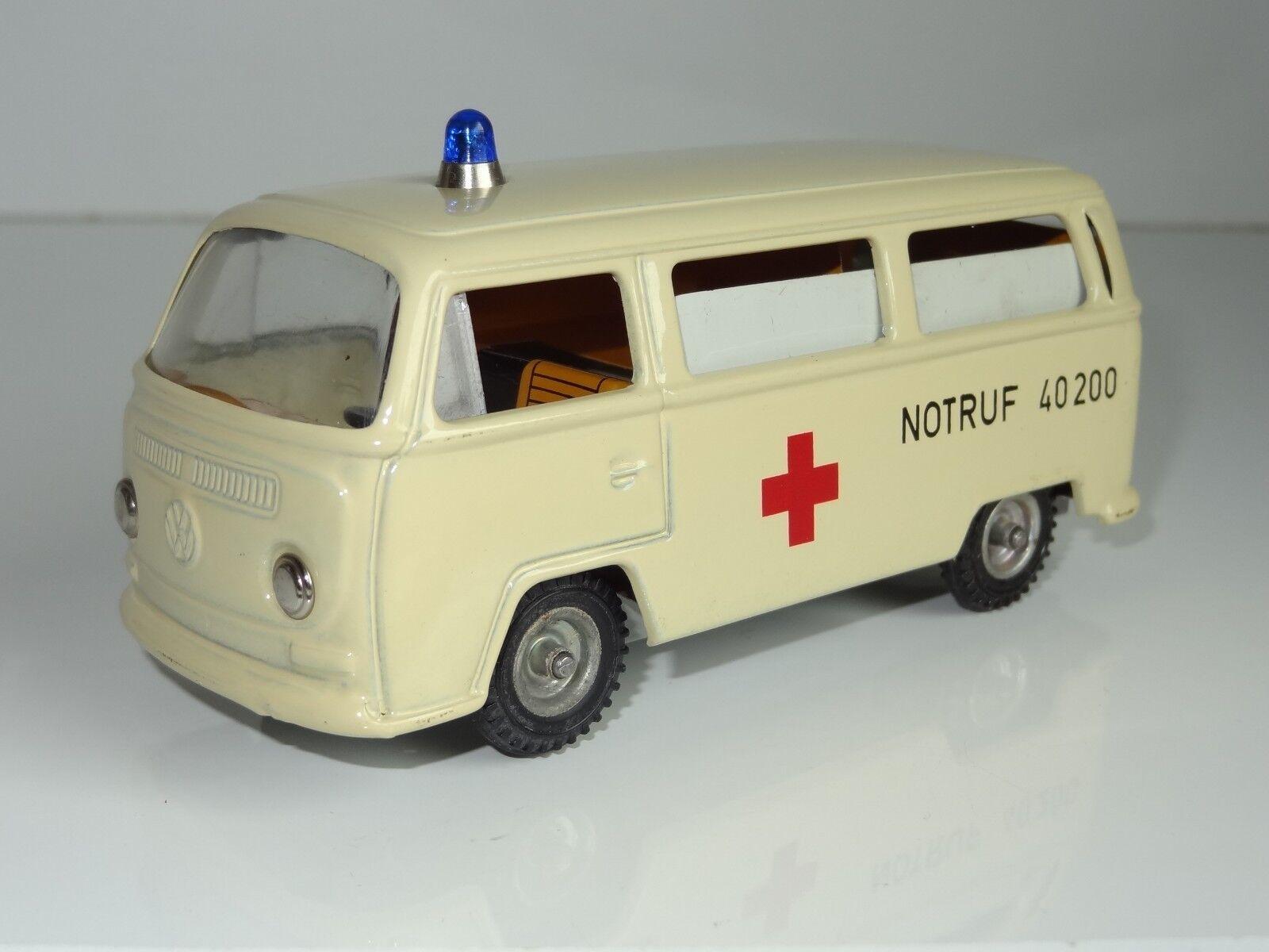 (V) CKO Kellerman West Germany TINPLATE VW VOLKSWAGEN AMBULANCE - 402