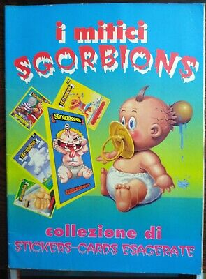 Sgorbions /& Basuritas Cards Foreign GPK Sealed Packs From Italy /& Argentina