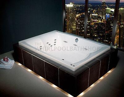 Carron Celsius Duo 26 Jet Whirlpool Bath 2000 x 1400mm | White | Jacuzzi Spa