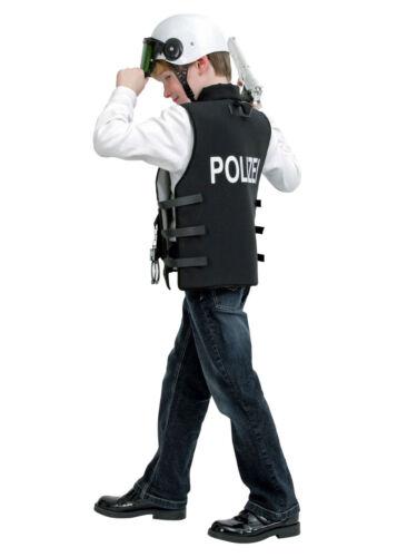 Kostüm für Kinder Polizei-Weste Karneval Kostüm