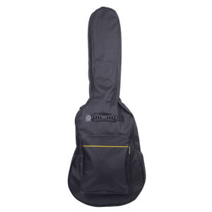 41-Inch-Padded-Acoustic-Guitar-Bag-Black-Heavy-Nylon-Padded-Cotton